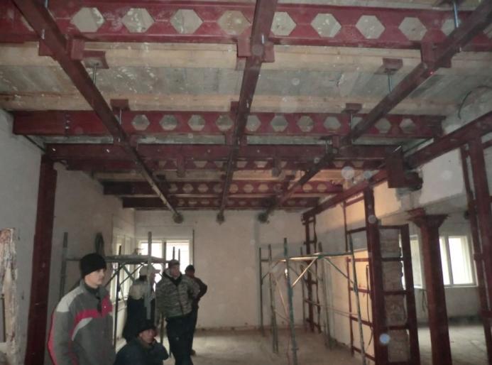 Proiect de consolidare a imobilului de pe Str. Mr. Cranta (recompartimentare + sustinere planseu de lemn)  - Poza 5