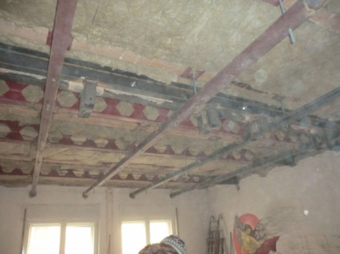 Proiect de consolidare a imobilului de pe Str. Mr. Cranta (recompartimentare + sustinere planseu de lemn)  - Poza 6