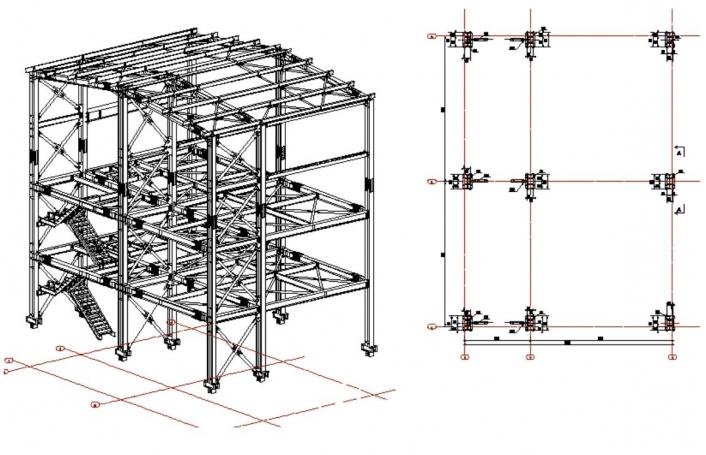 Stabilizare versant si proiectare cladire industriala - Carmeuse Campulung  - Poza 6