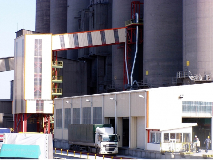 Statie de incarcare Vrac si Linie Paletizare, Lafarge Romcim - Medgidia, Ibau Hamburg (Germany) si Metral (Spain) Technology,  2005-2006  - Poza 6