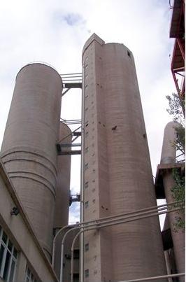 Turn elevator - Transport faina - 2004 Lafarge Romcim - Hoghiz, Beumer (Germany) Technology  - Poza 2
