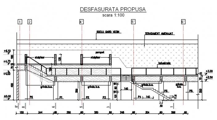 Amenajarea versantilor - Zid de sprijin si terasare Hotel Carmen Predeal CERENG CONSULT - Poza 6
