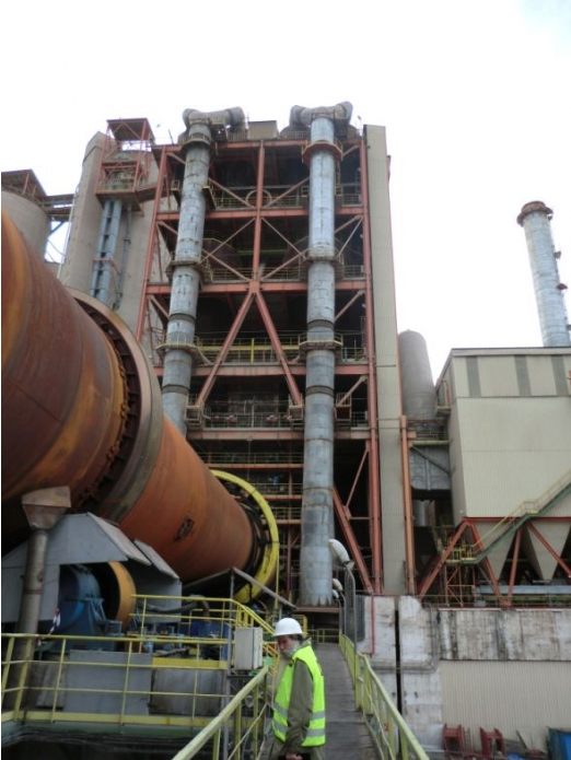 Consolidare turn cicloane - Lafarge Hoghiz CERENG CONSULT - Poza 1