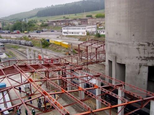 Linia de insacuire, paletizare si expeditie ciment, Lafarge-Romcim Hoghiz - Feb - Sept. 2003 CERENG CONSULT - Poza 3