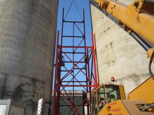 Statia de incarcare si terminal ciment Lafarge - Cluj Napoca CERENG CONSULT - Poza 6