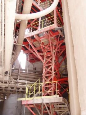 Turn elevator pentru transport faina - Lafarge Romcim - Hoghiz, Beumer (Germany) Technology, 2004 CERENG CONSULT - Poza 3