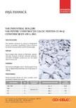 Var industrial bulgari pentru constructii calcic nestins CELCO - Var industrial bulgari, calcic nestins, CL90-Q lu