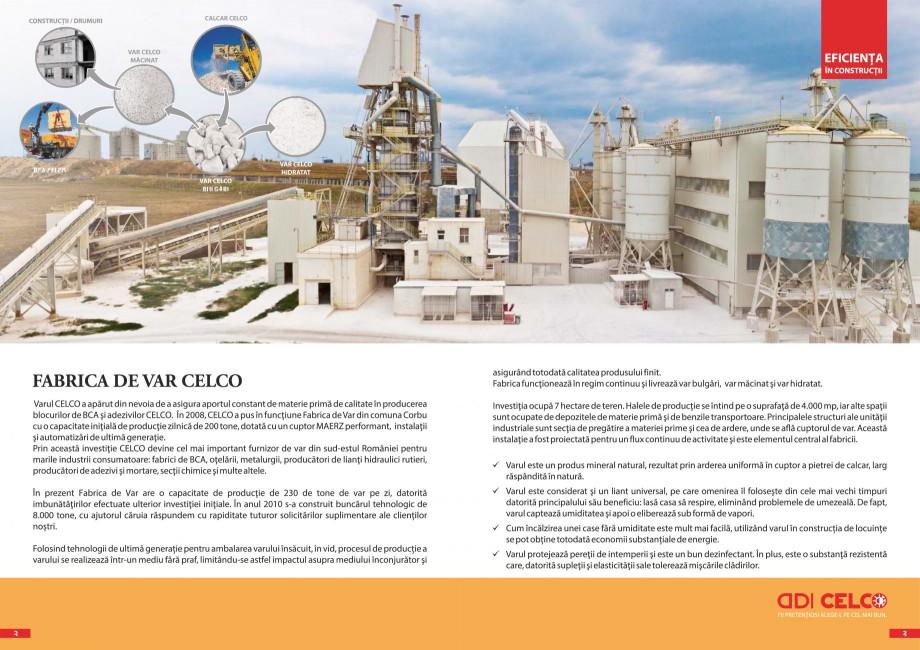 Pagina 2 - Pliant - Var CELCO Var calcic hidratat CL90-S dp, Var industrial bulgari, calcic nestins,...