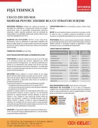 Mortar pentru zidarie BCA cu straturi subtiri