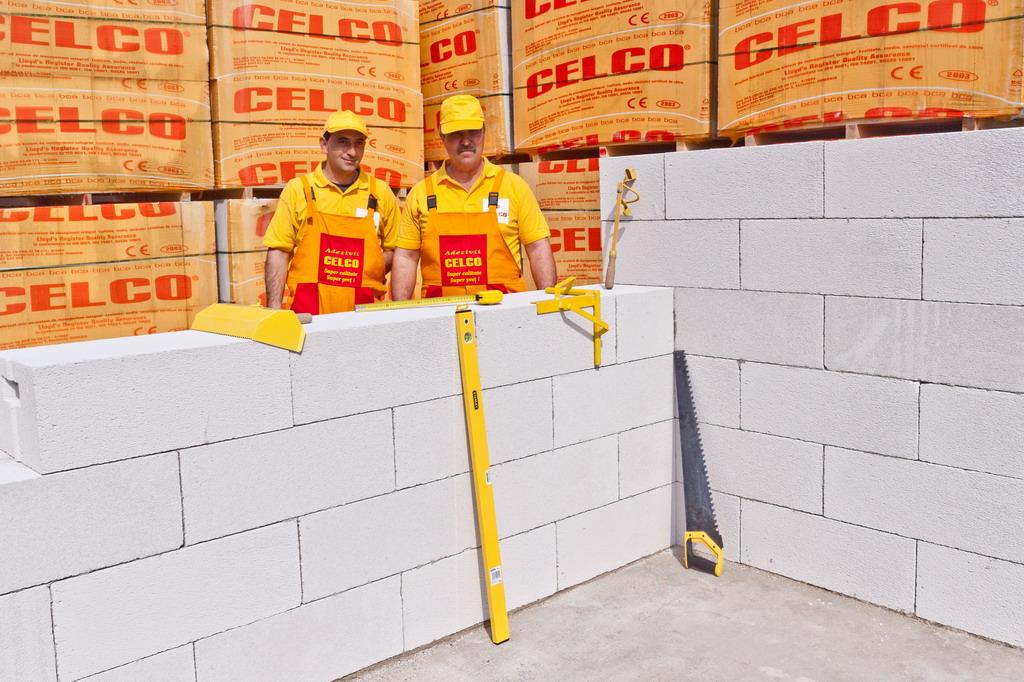 BCA - beton celular autoclavizat CELCO - Poza 7