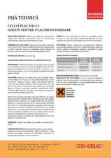 Adeziv pentru placi ceramice de interior CELCO