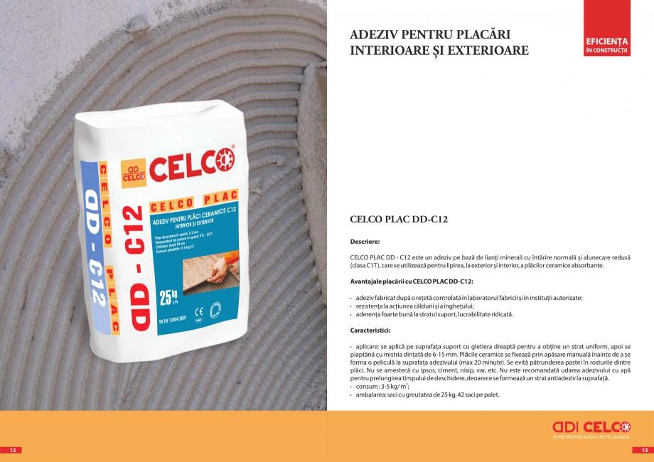 Pagina 3 - Pliant - Adezivi pentru placari  CELCO PLAC interior DD-C1, PLAC interior-exterior DD-C12...