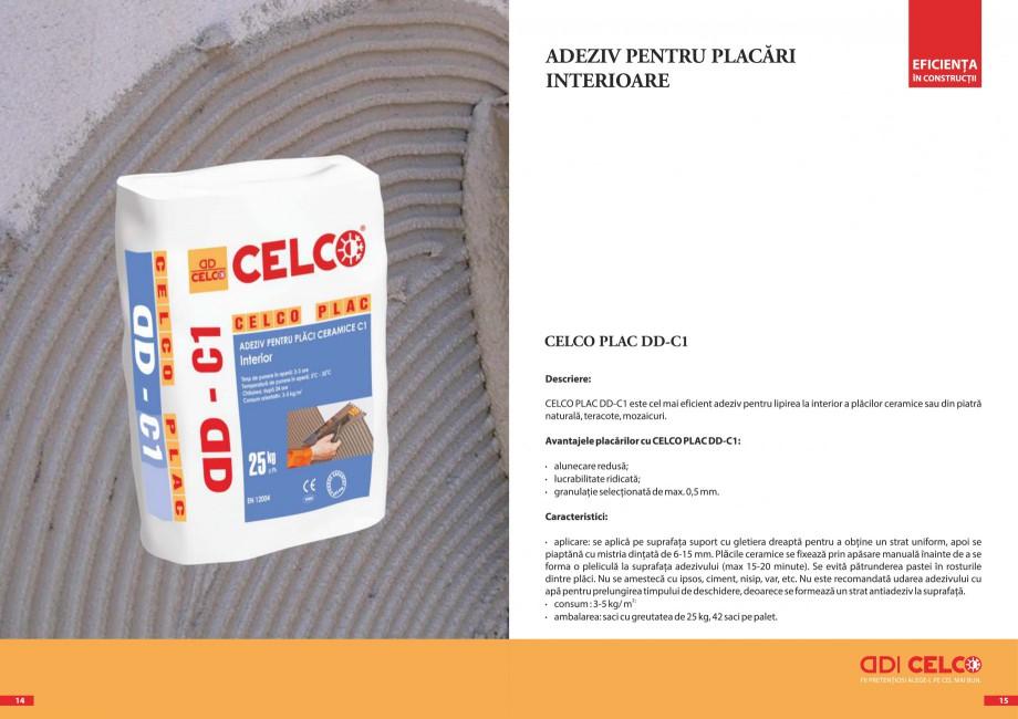 Pagina 4 - Pliant - Adezivi pentru placari  CELCO PLAC interior DD-C1, PLAC interior-exterior DD-C12...
