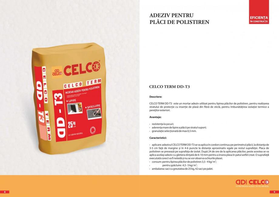 Pagina 3 - Pliant - Mortar adeziv pentru polistiren CELCO TERM DD-T3 Catalog, brosura Romana
