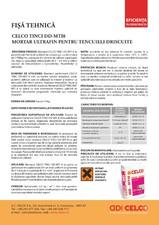 Mortar ultrafin pentru tencuieli driscuite CELCO