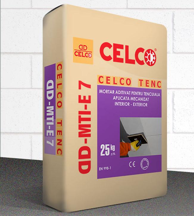 Mortar pentru tencuire mecanizata CELCO - Poza 2