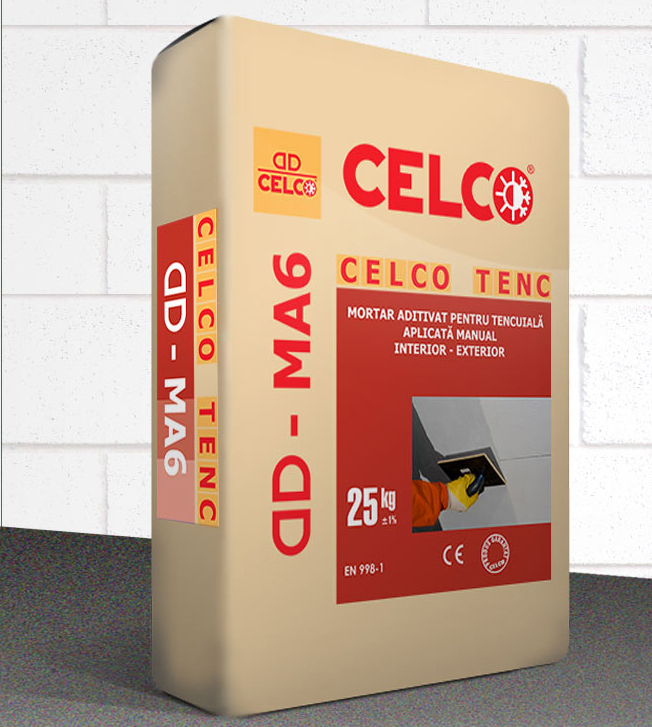 Mortar pentru tencuire manuala  CELCO - Poza 1