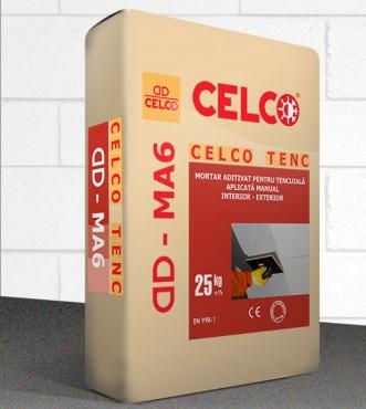 Prezentare produs Mortar pentru tencuire manuala  CELCO - Poza 1