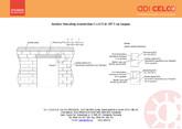 Instalare buiandrug termoizolant CELCO de 187 cm lungime CELCO