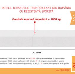 Buiandrugi termoizolanti pentru sustinerea zidariei  CELCO