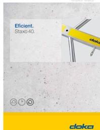 Prezentare schela portanta Staxo 40