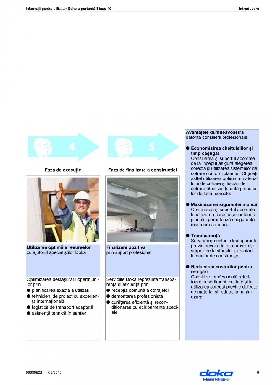 Pagina 9 - Schela portanta DOKA STAXO 40 Instructiuni montaj, utilizare Romana  Simboluri În acest ...