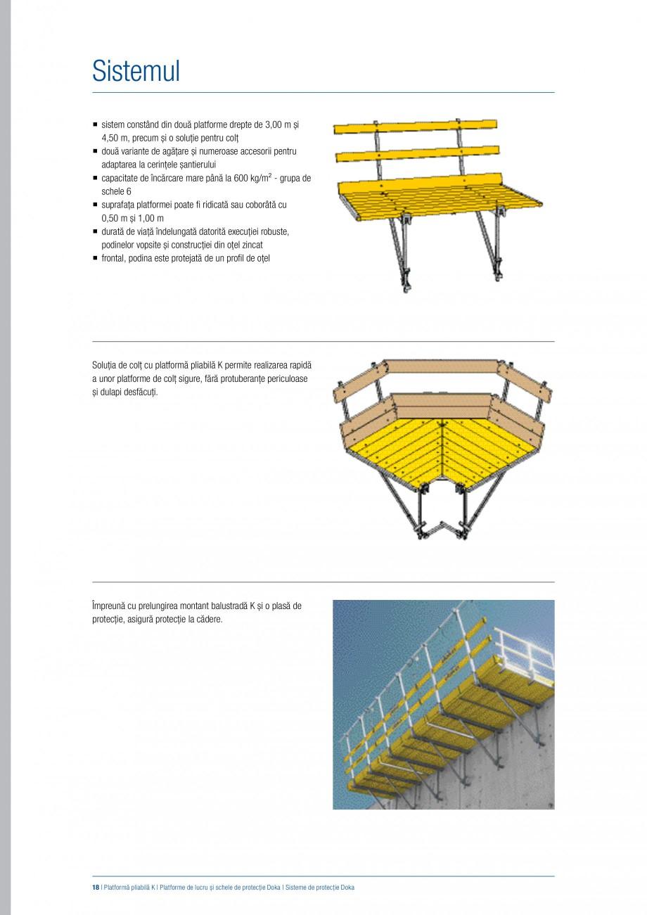 Pagina 17 - Siguranta pe santier - Sisteme de protectie DOKA Xsafe plus, K, XP, Montanti, Xclimb 60,...