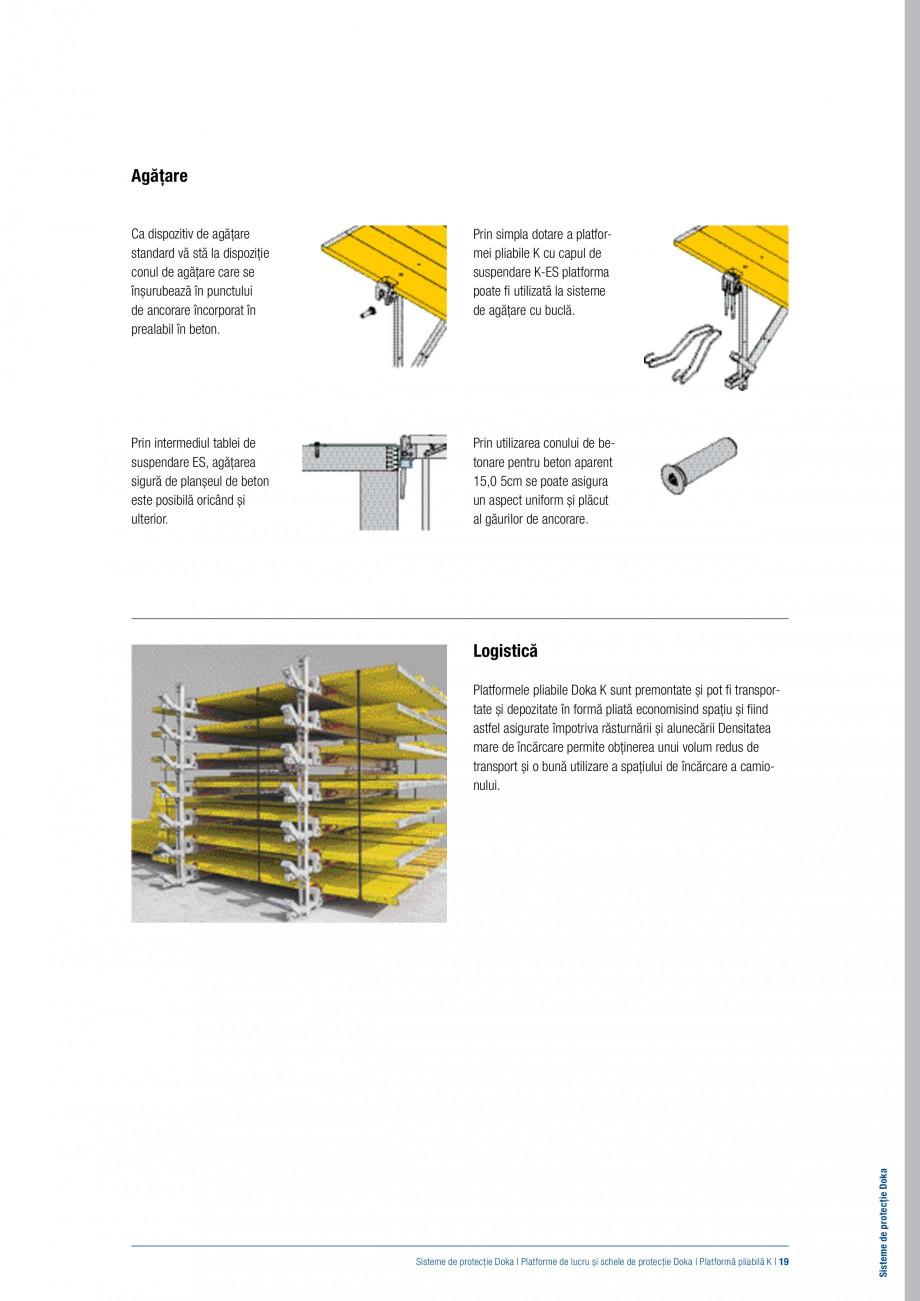 Pagina 18 - Siguranta pe santier - Sisteme de protectie DOKA Xsafe plus, K, XP, Montanti, Xclimb 60,...