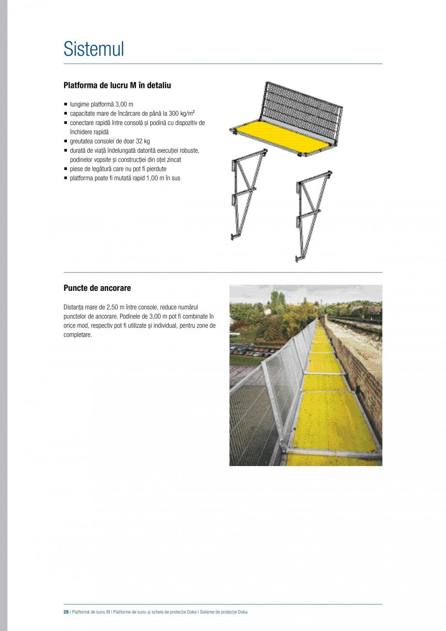 Pagina 27 - Siguranta pe santier - Sisteme de protectie DOKA Xsafe plus, K, XP, Montanti, Xclimb 60,...