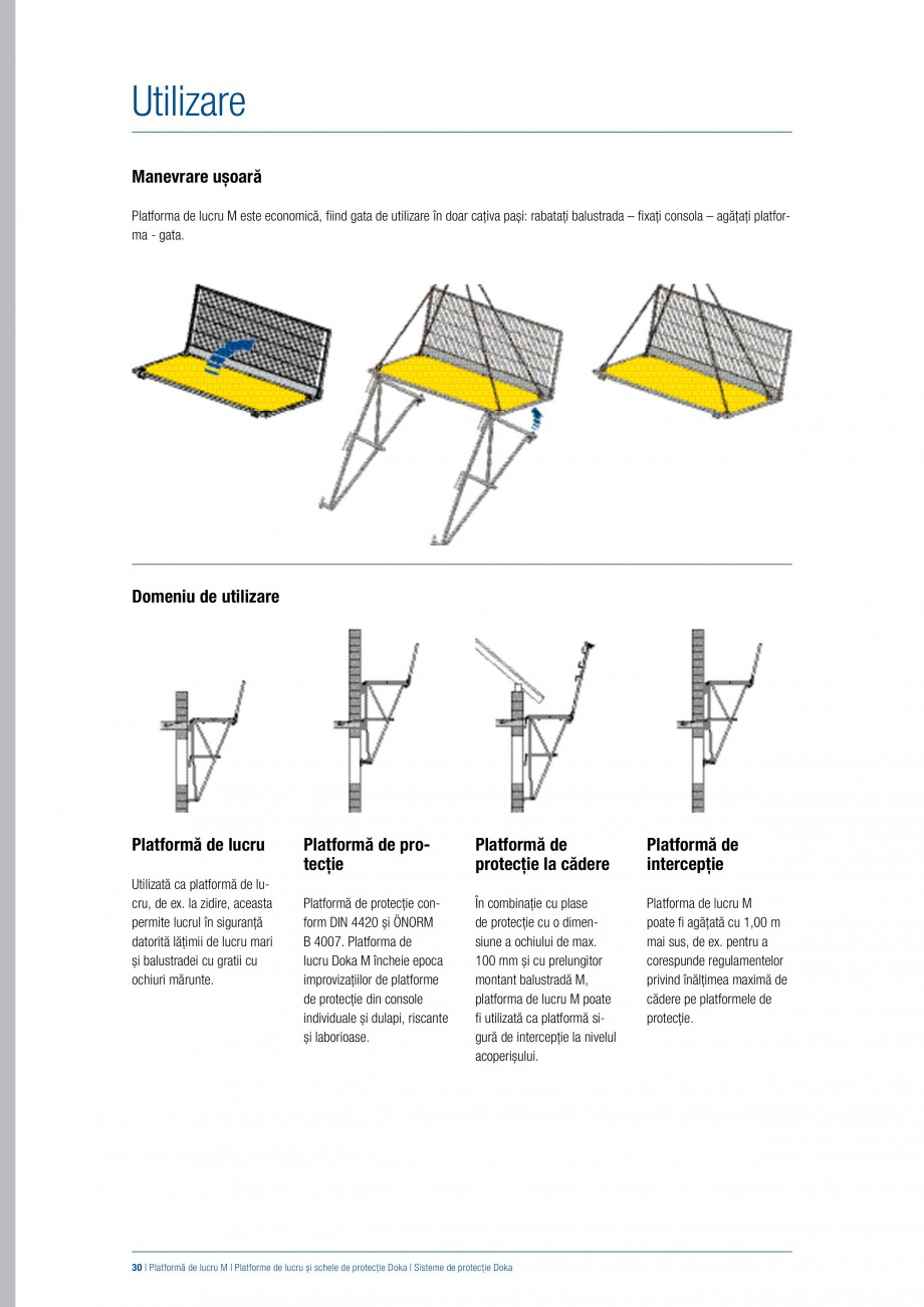 Pagina 29 - Siguranta pe santier - Sisteme de protectie DOKA Xsafe plus, K, XP, Montanti, Xclimb 60,...