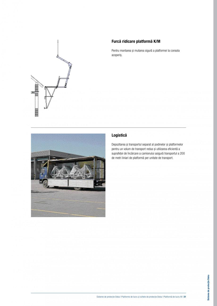 Pagina 30 - Siguranta pe santier - Sisteme de protectie DOKA Xsafe plus, K, XP, Montanti, Xclimb 60,...
