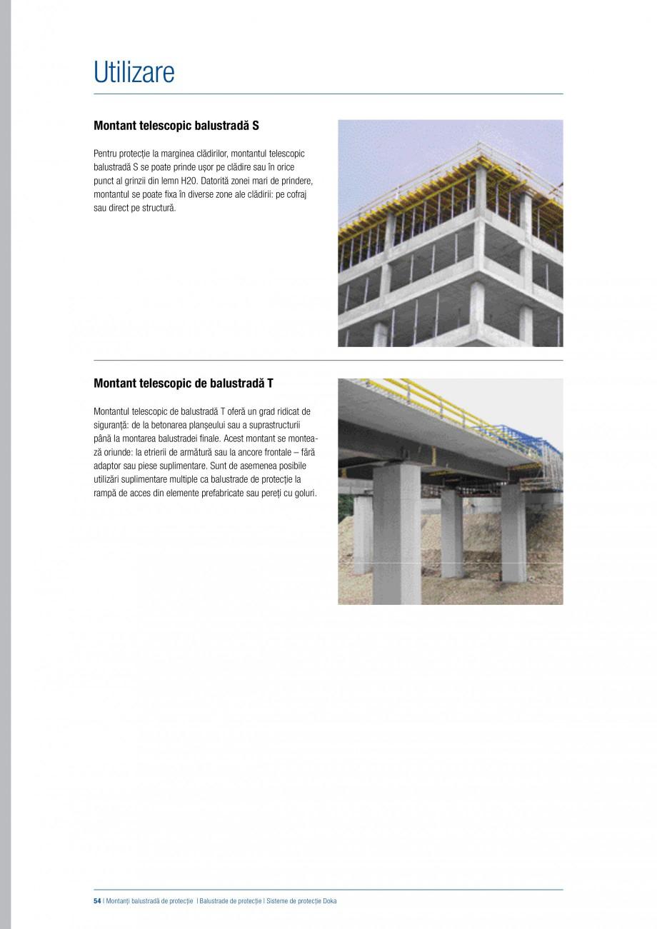 Pagina 53 - Siguranta pe santier - Sisteme de protectie DOKA Xsafe plus, K, XP, Montanti, Xclimb 60,...