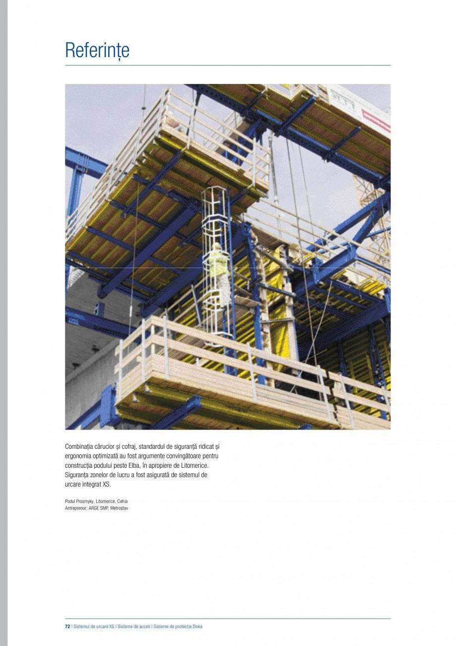 Pagina 71 - Siguranta pe santier - Sisteme de protectie DOKA Xsafe plus, K, XP, Montanti, Xclimb 60,...