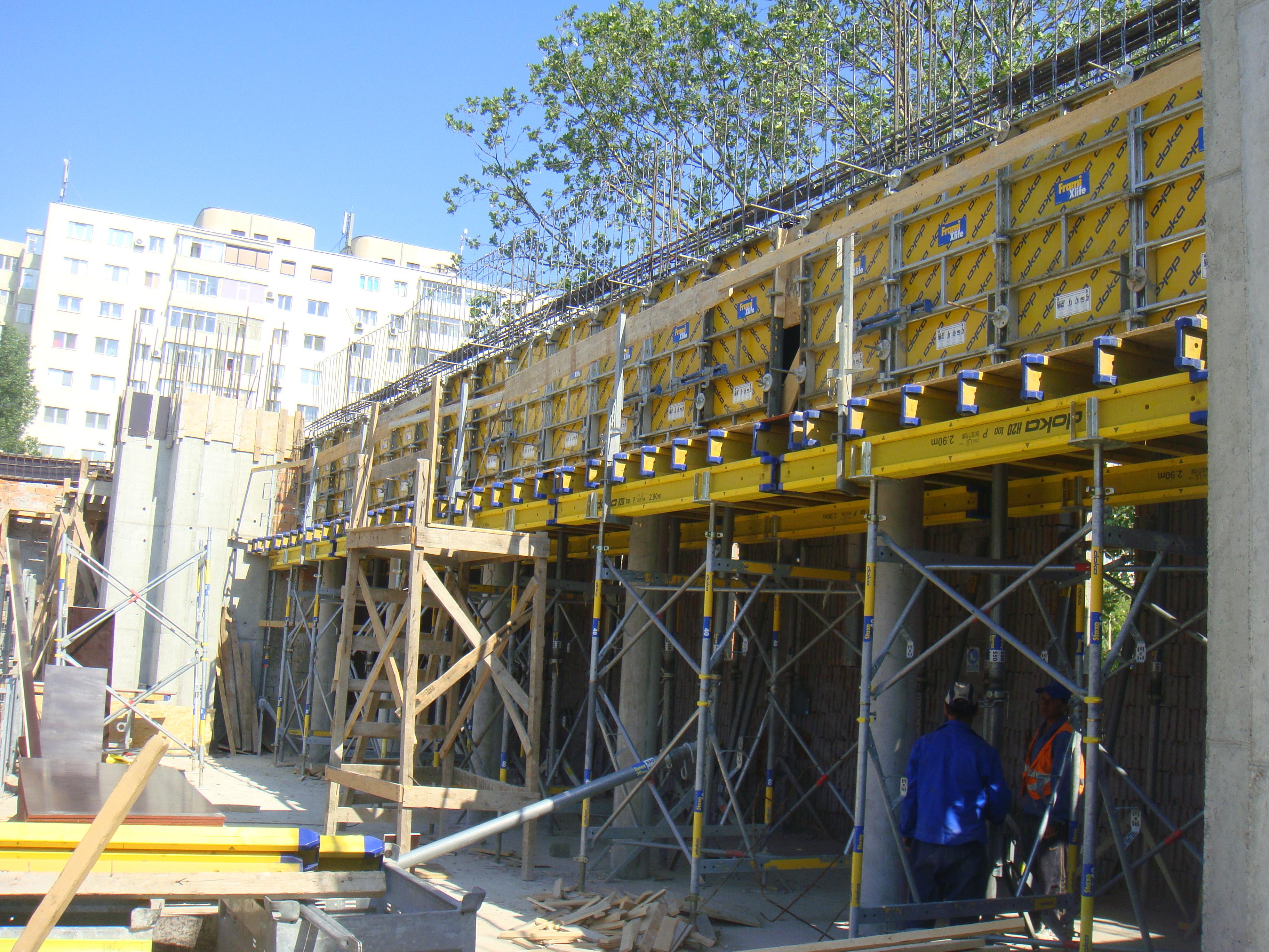 Montaj schela portanta Catedrala DOKA - Poza 4