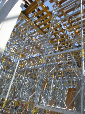 Lucrari, proiecte Montaj schela portanta Ploiesti Mall DOKA - Poza 1