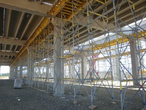 Lucrari, proiecte Montaj schela portanta Ploiesti Mall DOKA - Poza 5