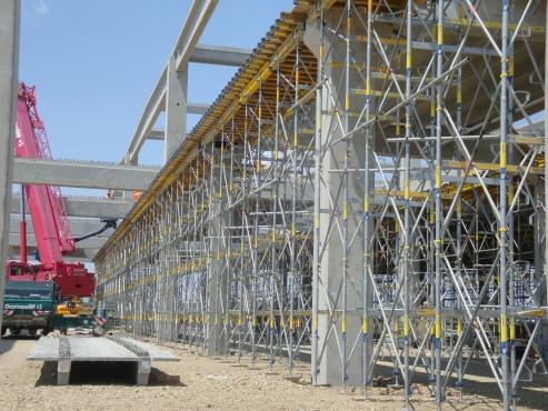 Lucrari, proiecte Montaj schela portanta Ploiesti Mall DOKA - Poza 6