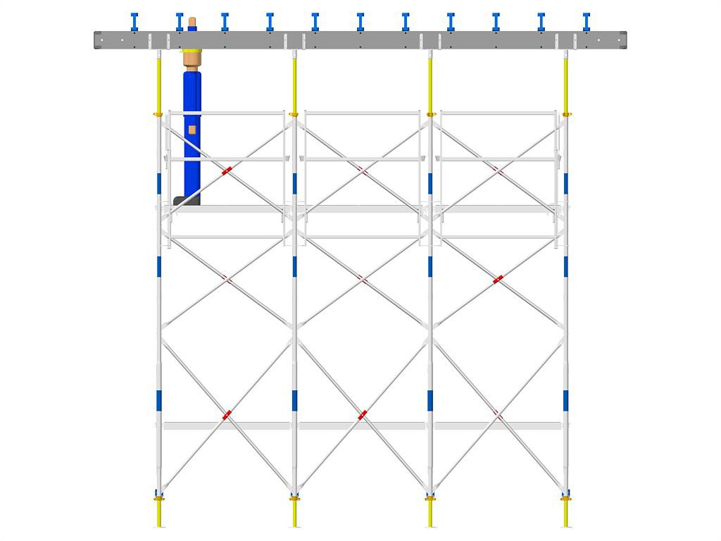 Exemple de montaj schela portanta DOKA - Poza 1