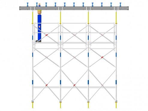 Prezentare produs Exemple de montaj schela portanta DOKA - Poza 1