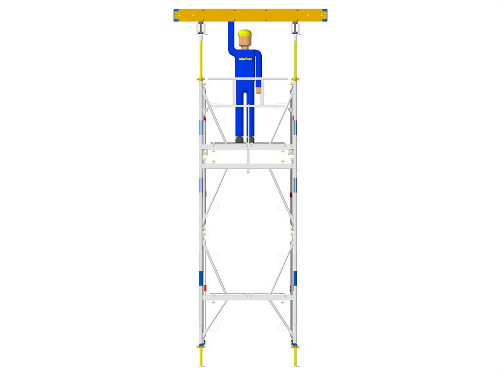 Exemple de montaj schela portanta DOKA - Poza 5