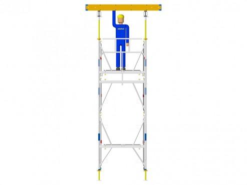 Prezentare produs Exemple de montaj schela portanta DOKA - Poza 5