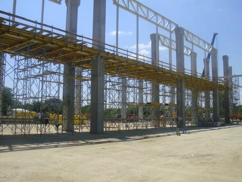 Lucrari, proiecte Montaj schela portanta Staxo 40 Maritimo Center DOKA - Poza 1