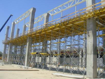 DSC03995 STAXO 40 Montaj schela portanta Staxo 40 Maritimo Center