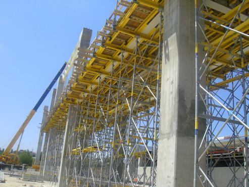 Lucrari, proiecte Montaj schela portanta Staxo 40 Maritimo Center DOKA - Poza 3