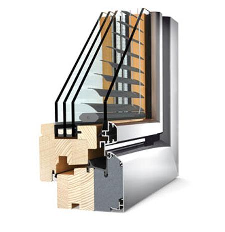 Ferestre din lemn cu invelis exterior din aluminiu Internorm - Poza 2