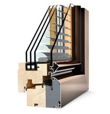 Ferestre din lemn cu invelis exterior din aluminiu Internorm - Poza 3