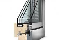 Ferestre Internorm® din lemn cu invelis exterior din aluminiu   Internorm