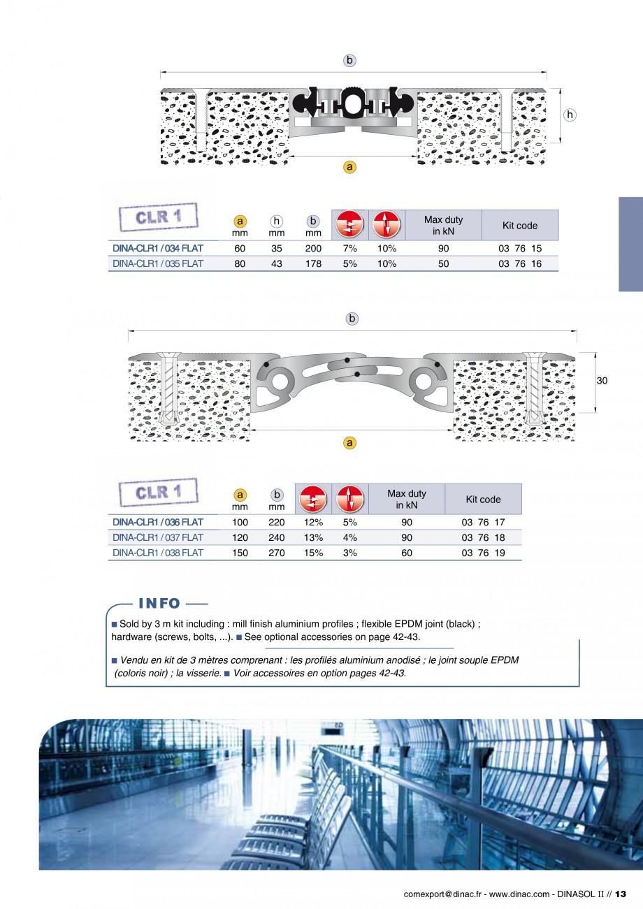 Pagina 15 - Profile de dilatatie pentru pereti, pardoseli  Catalog, brosura Engleza, Franceza A-PrS ...