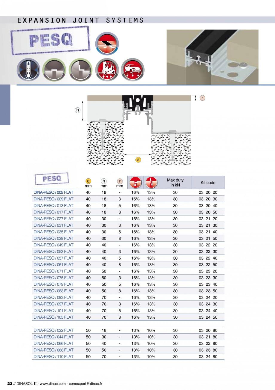 Pagina 24 - Profile de dilatatie pentru pereti, pardoseli  Catalog, brosura Engleza, Franceza ws,...
