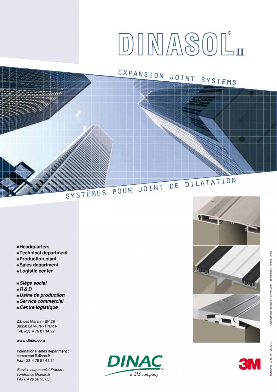 Pagina 52 - Profile de dilatatie pentru pereti, pardoseli  Catalog, brosura Engleza, Franceza 25 30 ...